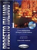 NUOVO PROGETTO ITALIANO 1 LIBRO DELLO STUDENTE + CD-ROM