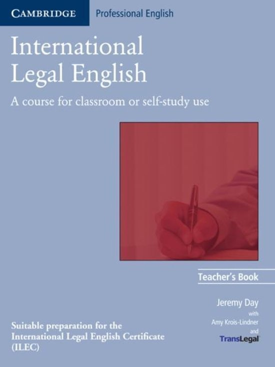 International Legal English Teacher´s Book
