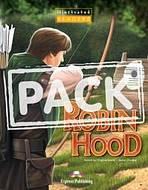 Illustrated Readers 1 Robin Hood - Readers + CD/DVDPAL