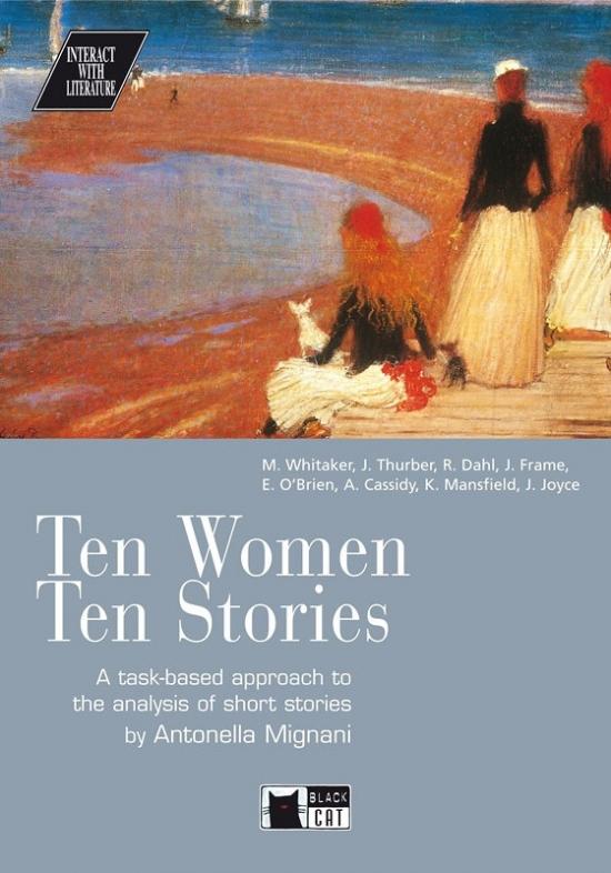 BLACK CAT INTERACT WITH LITERATURE B2-C1 - TEN WOMEN TEN STORIES + CD