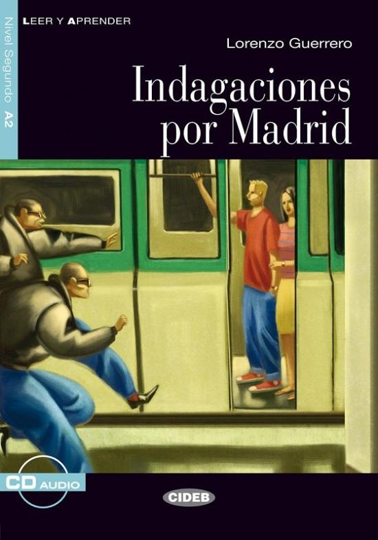 BLACK CAT LEER Y APRENDER 2 - INDAGACIONES POR MADRID + CD