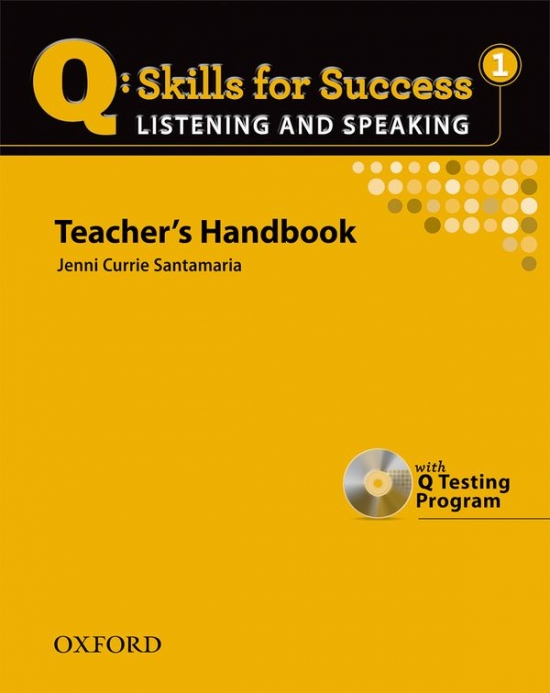 Q: Skills for Success Listening a Speaking 1 (Elementary) Teacher´s Book with Testing Program CD-ROM