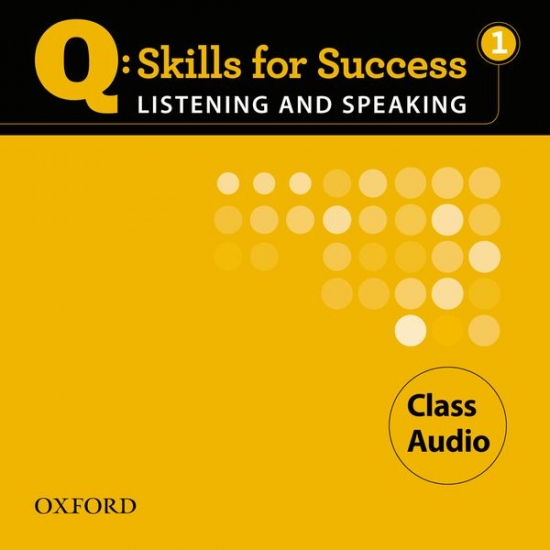 Q: Skills for Success Listening a Speaking 1 (Elementary) Class Audio CD