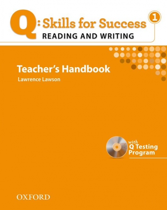 Q: Skills for Success Reading a Writing 1 (Elementary) Teacher´s Book with Testing Program CD-ROM
