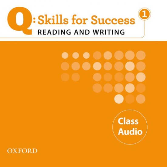 Q: Skills for Success Reading a Writing 1 (Elementary) Class Audio CD