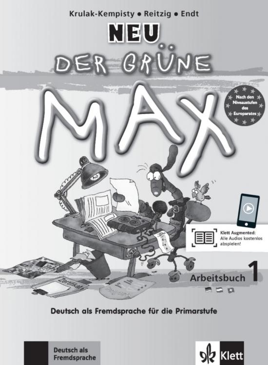 Der grüne Max NEU 1 Arbeitsbuch mit Audio CD