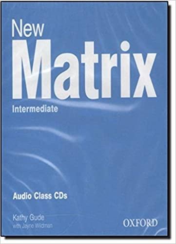 New Matrix Intermediate CLASS CD
