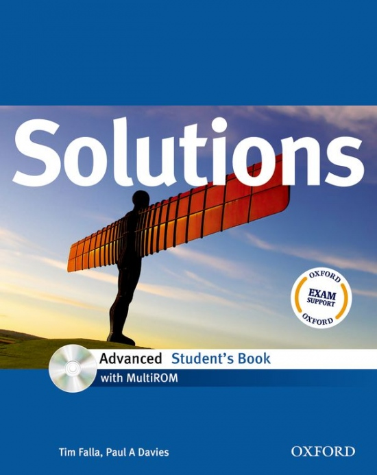 Maturita Solutions Advanced STUDENT´S BOOK + CD-ROM ( International English Edition)