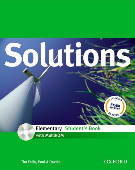 Maturita Solutions Elementary Student´s Book with MultiROM ( International English Edition)