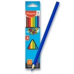 Pastelky Maped Color´Peps - 6 barev