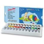 Temperové barvy Aero - 12 barev