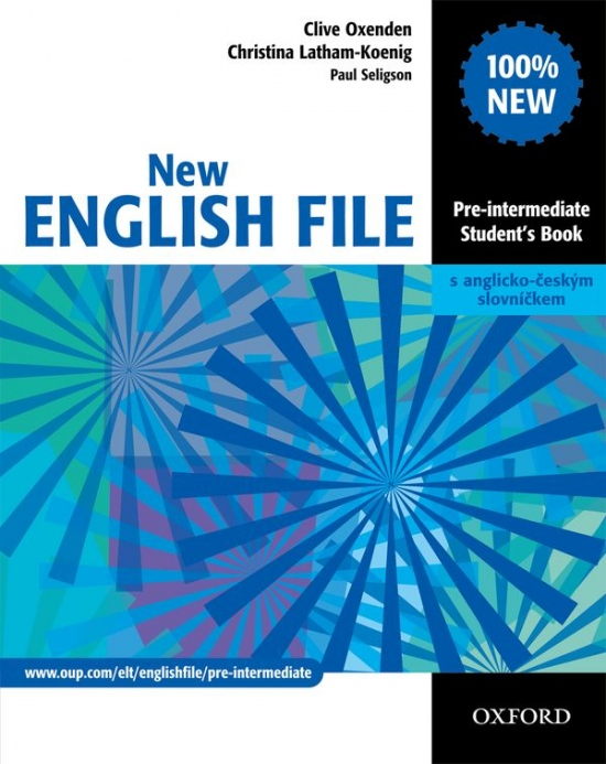 New English File: Pre-intermediate Student's Book - Náhled učebnice
