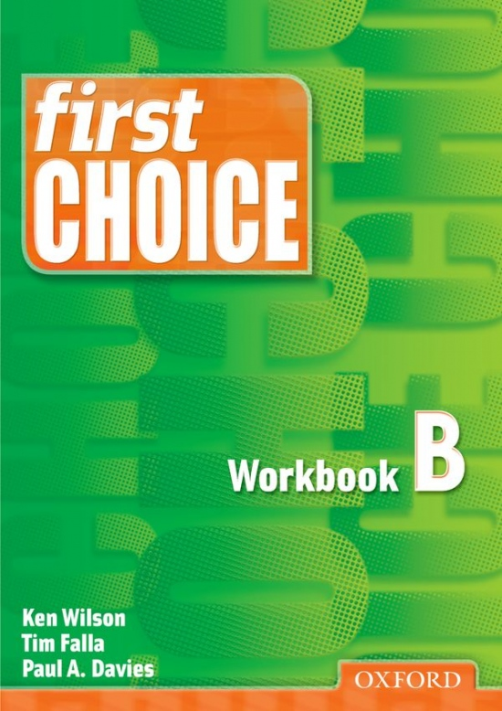 First Choice Workbook B