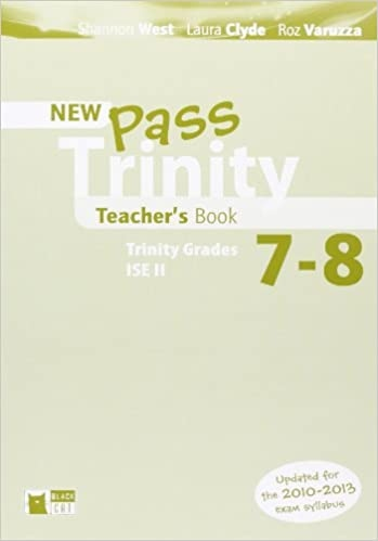 New Pass Trinity 7 - 8 and ISE II Teacher´s Book
