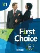 First Choice B1 UČ + CD /dovoz/