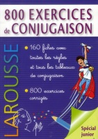 800 Exercices de conjugaison - Náhled učebnice