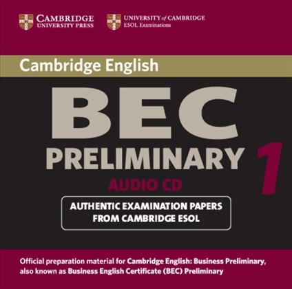 Cambridge BEC Preliminary Practice Tests 1 Audio CD