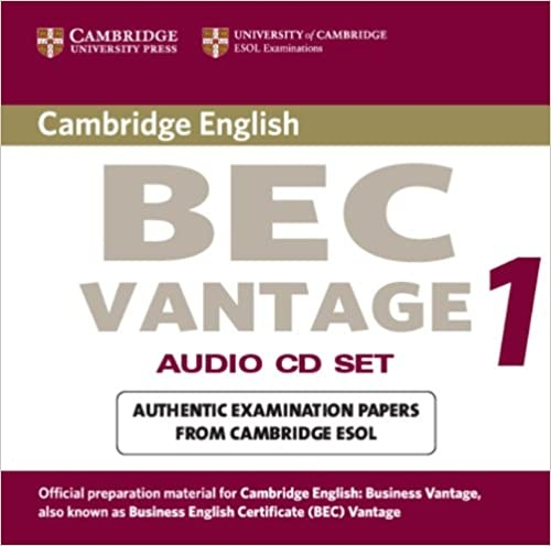Cambridge BEC Vantage Practice Tests 1 Audio CD