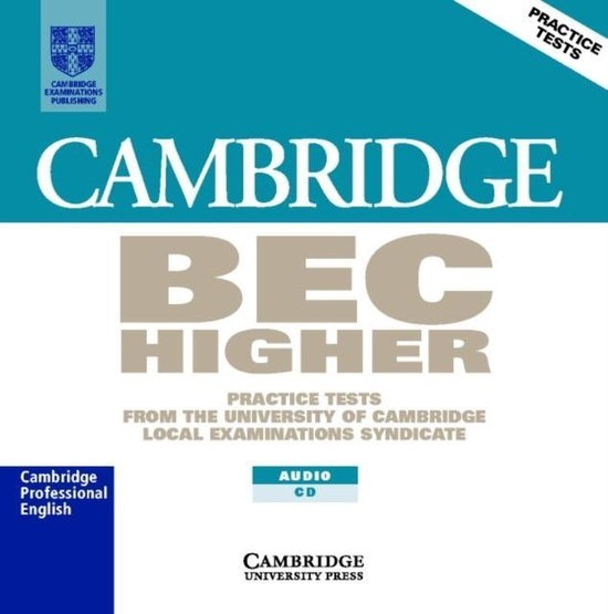 Cambridge BEC Higher Practice Tests 1 Audio CD