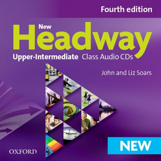New Headway Upper Intermediate (4th Edition) Class Audio CDs (4)