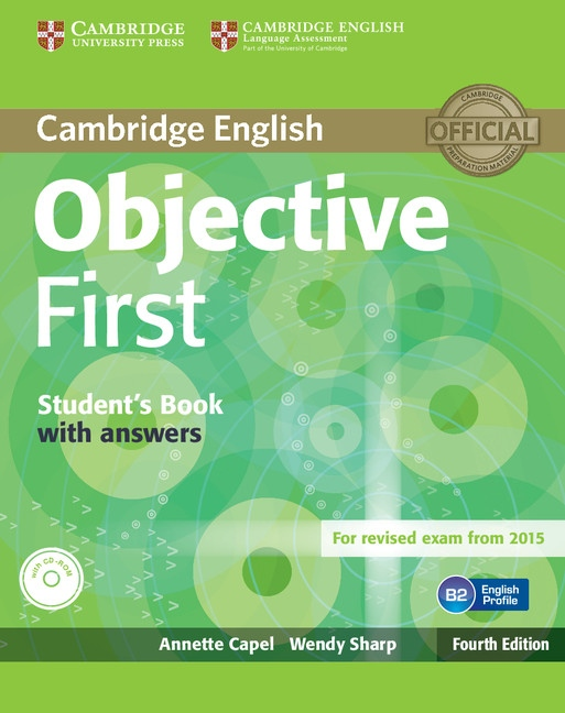 Objective First 4th edition Student's book - Náhled učebnice