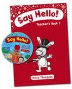Say Hello Teacher´s Book 1 with CD-ROM
