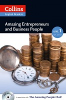 Collins English Readers Amazing 1 Entrepreneurs a Business People