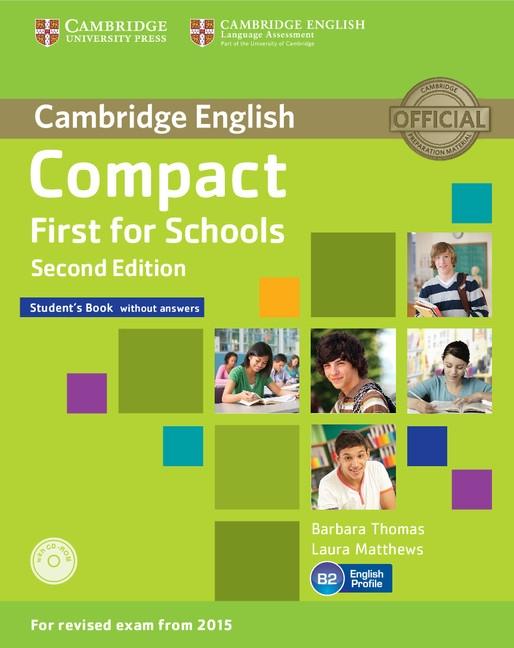 Compact First for Schools - Náhled učebnice