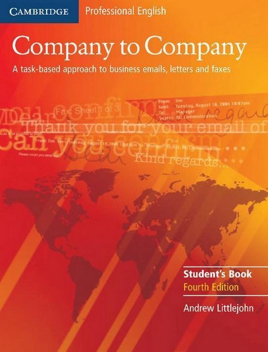 Company to Company 4th Edition Student´s Book