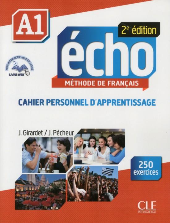 Echo A1 - 2e édition - Cahier d´exercices + CD audio + livre web