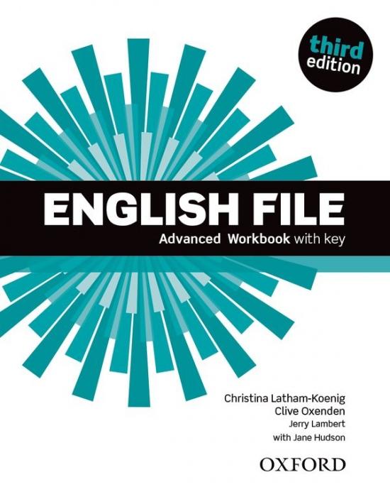English File - Advanced Workbook with key, 3rd edition - Náhled učebnice