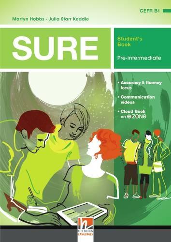SURE Pre-Intermediate Student´s Book with e-zone