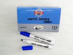 KOH-I-NOOR značkovač White Board 9005 kulatý modrý