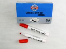 KOH-I-NOOR značkovač White Board 9006 plochý červený