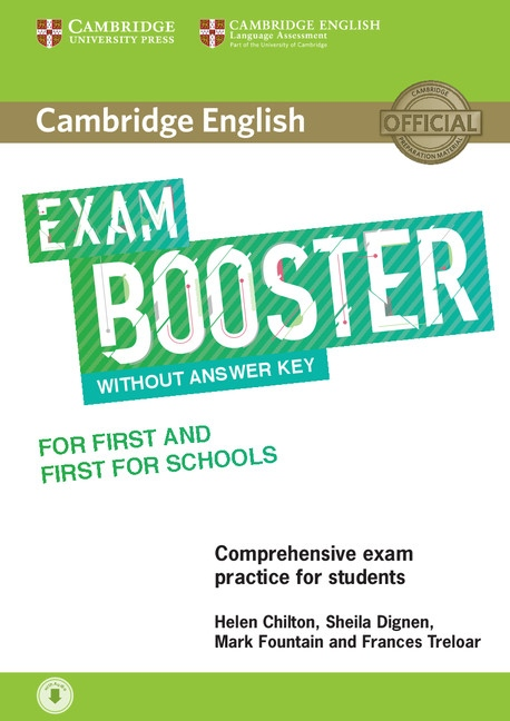 Cambridge English Exam Booster for First (FCE) a First for Schools (FCE4S) without Answer Key with Audio Download