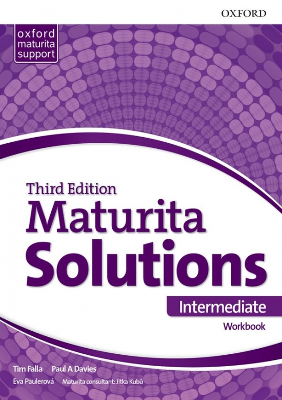 Maturita Solutions 3rd Edition Intermediate Workbook Czech Edition
