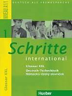 Schritte international 1 Glossar XXL Deutsch-Tschechisch