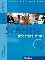 Schritte international 3 Kursbuch + Arbeitsbuch mit Audio-CD zum Arbeitsbuch