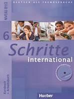 Schritte international 6 Kursbuch + Arbeitsbuch mit Audio-CD zum Arbeitsbuch