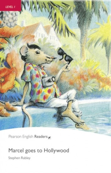 Penguin Readers 1 Marcel goes to Hollywood Book + CD Pack