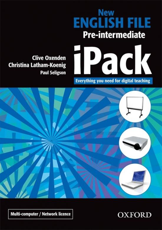 New English File Pre-Intermediate iPack (network version)
