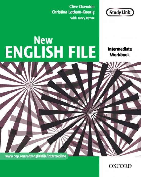 New English File. Intermediate. Workbook - Náhled učebnice