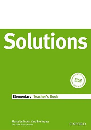 Maturita Solutions Elementary Teacher´s Book