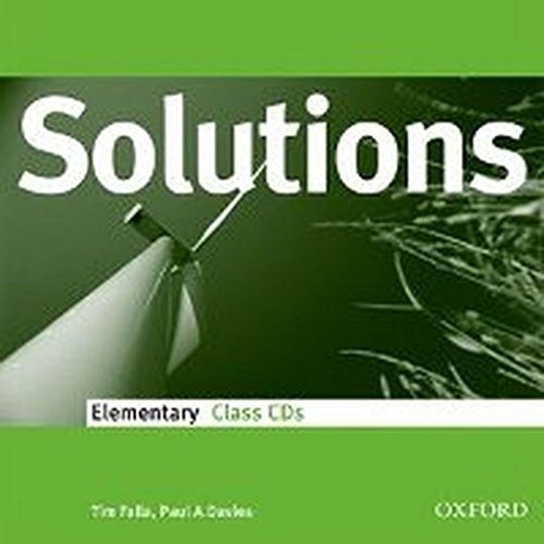 Maturita Solutions Elementary Class Audio CDs (3)