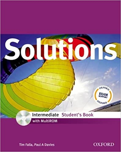 Maturita Solutions Intermediate Student´s Book with MultiROM ( International English Edition)