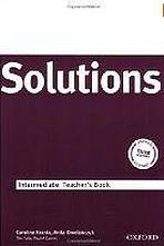 MATURITA SOLUTIONS INTERMEDIATE TEACHER´S BOOK - Náhled učebnice
