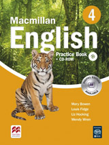 Macmillan English 4 Practice Book Pack