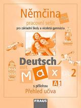 Deutsch mit Max A1 díl 2 PS (nìmèina jako 2.cizí jazyk na ZŠ )
