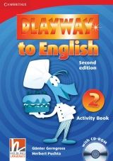 Playway to English 2 (2nd Edition) Activity Book with CD-ROM