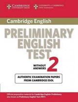 Cambridge Preliminary English Test 2 Student´s Book